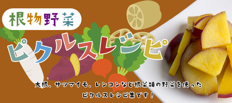 ピクルスレシピ根菜類